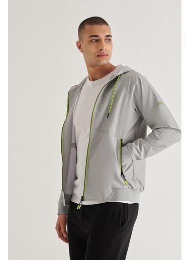 Avva Erkek  Kapüşonlu Sweatshirt A11Y1018 Gri